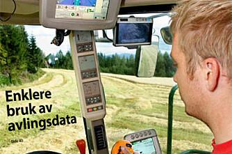 BG 8/11: Enklere bruk av avlingsdata