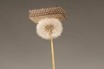 Nytt metall er like lett som luft