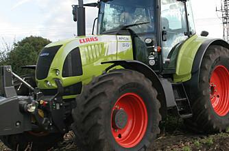 Etterlyst traktor funnet