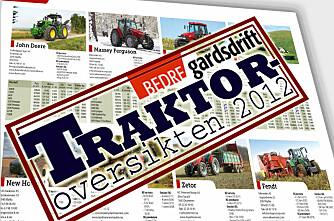 Traktoroversikten 2012 på nett!