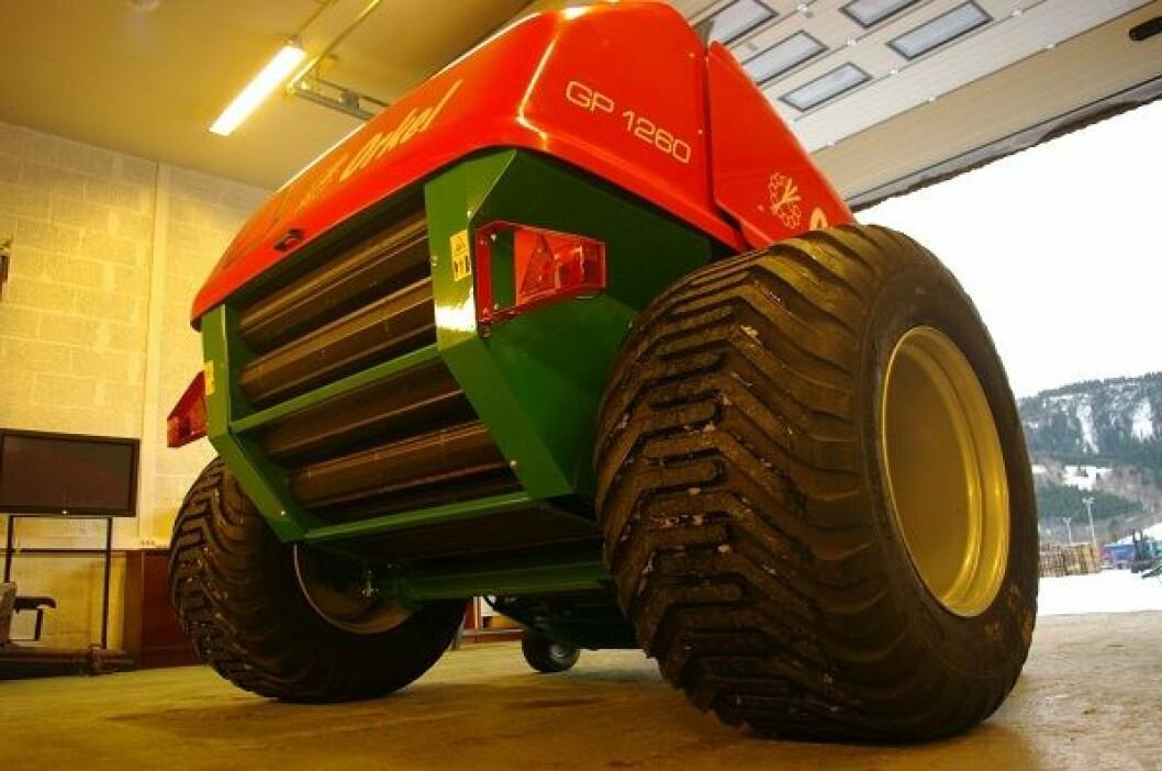 Orkel GP 1260 store hjul 1