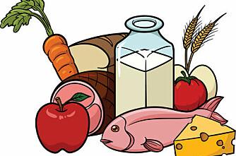 Hvor mye mat produserer din kommune?