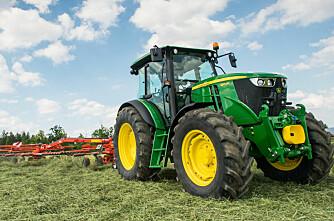 Traktorstatistikken: John Deere cruiser videre