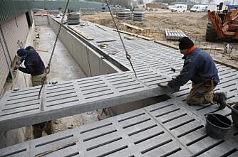 Færre investerer i driftsbygninger
