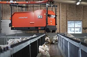 Enklere fôringsrobot fra TKS