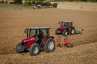 MF med 155 traktorer mer enn fjoråret