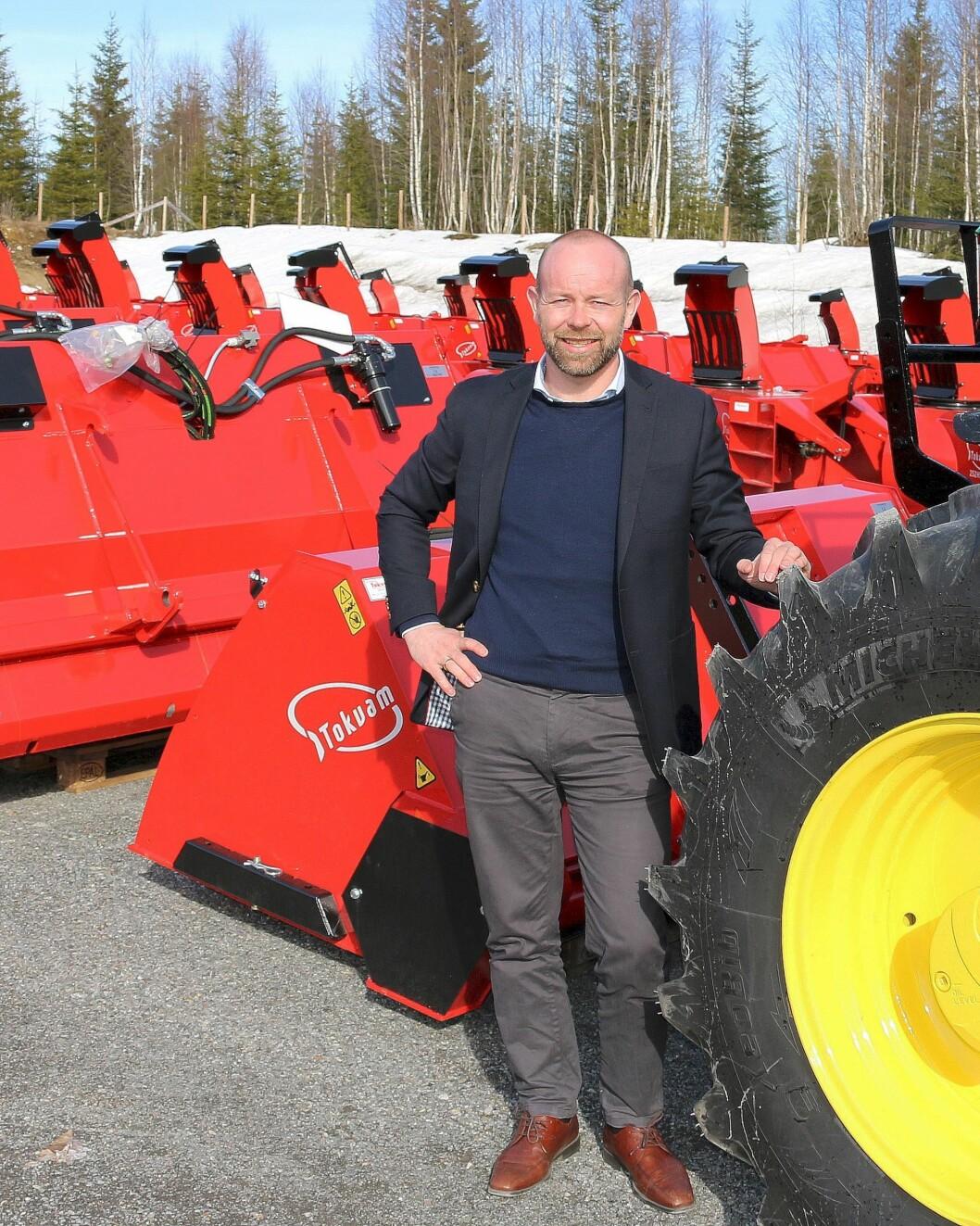 Finn Kristian Tokvam slær fast at for Tokvam er det eit viktig steg å gå i samarbeid med FKA.