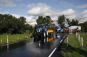 EU-kontroll på feil traktor?
