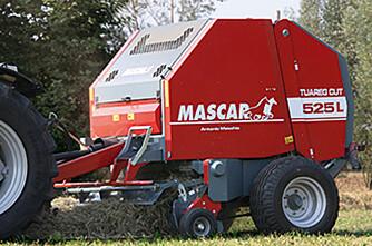 New Holland med presser fra Mascar