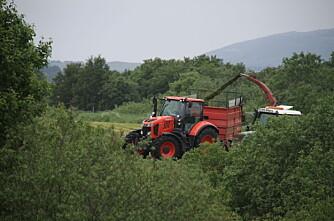 Traktorstatistikken: Kubota i fritt fall?