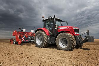 Traktorstatistikken: AGCO-merkene cruiser videre