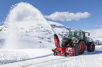 Stor snødemo på Aust-Torpa