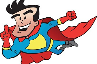 Du må være litt supermann i onna