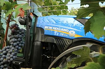 Ikke bare vingårdstraktor