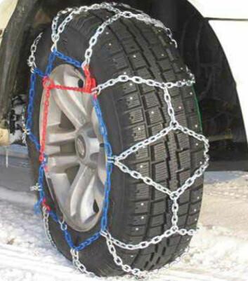 Premie 3. desember: Kjettingar til SUV/varebil frå Lilleseth Kjetting.