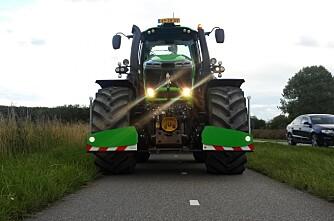 Støtfanger på traktoren?