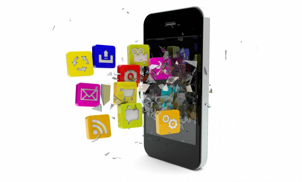 Har du en app du vil anbefale andre gardbrukere? Foto: Colourbox