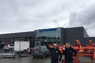 A-K maskiner med nyåpning i Steinkjer