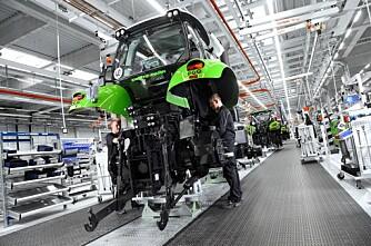 Deutz-Fahr åpner ny fabrikk og besøkssenter