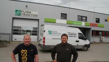 Eiksenteret Elverum og Flisa Traktor samles på Flisa