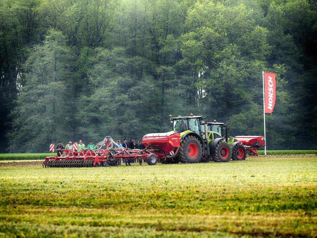 Norwegian Agro blir distributør av Horsch i Norge. Foto: Horsch