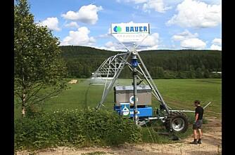 Se Norges første vanningsbom