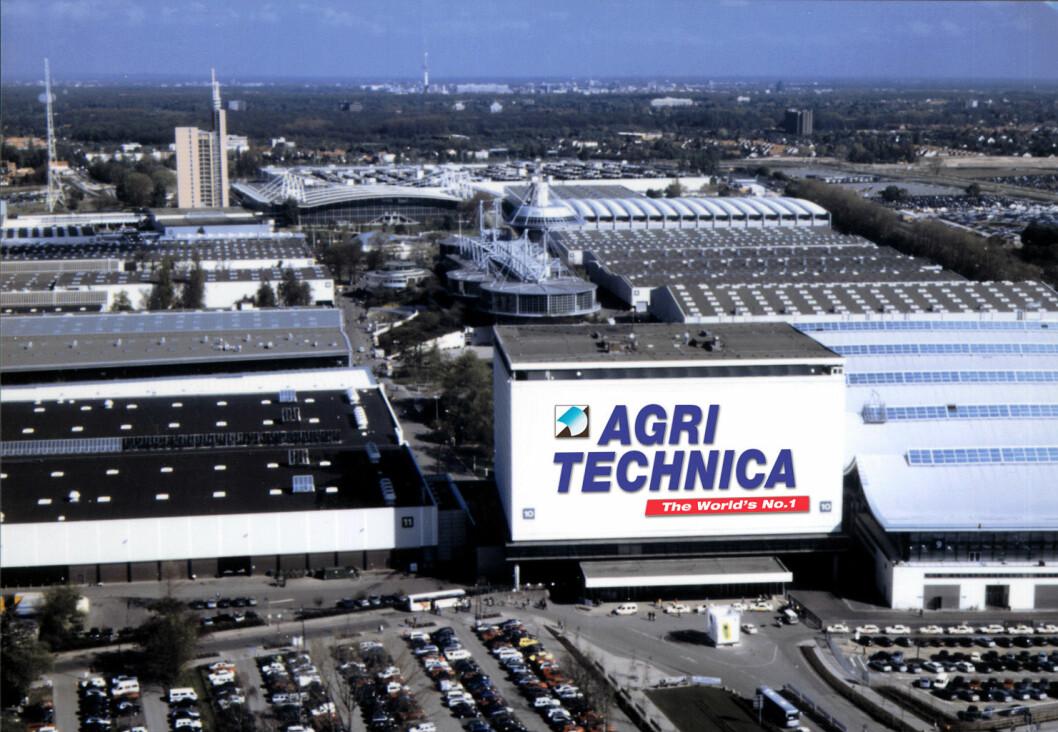 Nå er det drøye 100 dager igjen til Agritechnica 2017. (Photo: Deutsche Messe AG)