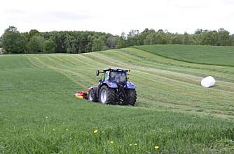 Jordtype viktigere enn traktorstørrelse?