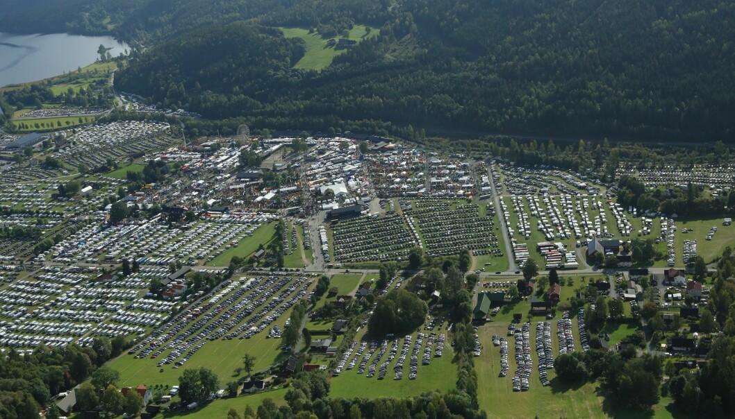 Flyfoto av Dyrsku-området. Foto: Åsmund Tynning