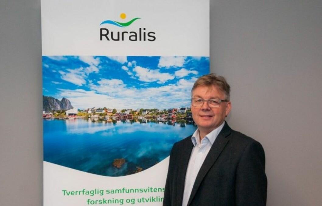 Direktør Harald Lein og Ruralis håper å nå ut til et breiere publikum gjennom navneendringa. Foto: Ruralis