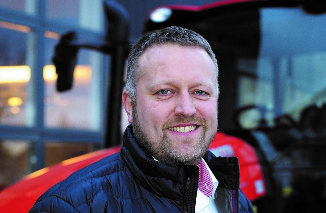 Kristian Refnov går fra CaseIH til Svenningsens. Pressefoto