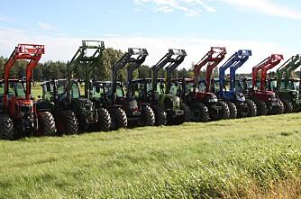 Traktoroversikten er oppdatert
