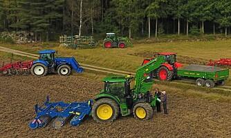 Traktorstatistikken: Stabil nedgang