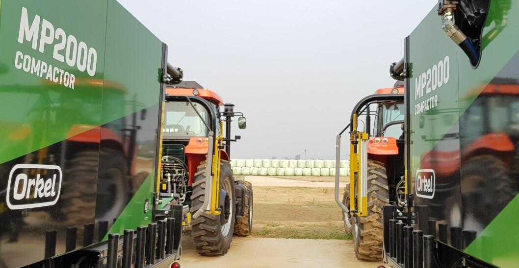 Orkel har fått ny storkontrakt i Kina. Foto: Orkel