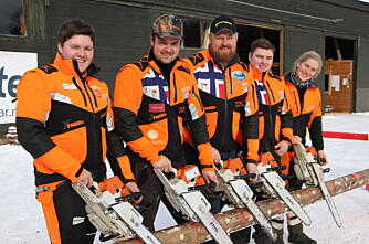 Nytt landslag klare for VM på Lillehammer
