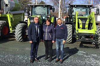 Lena Maskin overtar Trøndelag Traktor