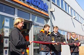 A-K maskiner åpner nytt butikkonsept