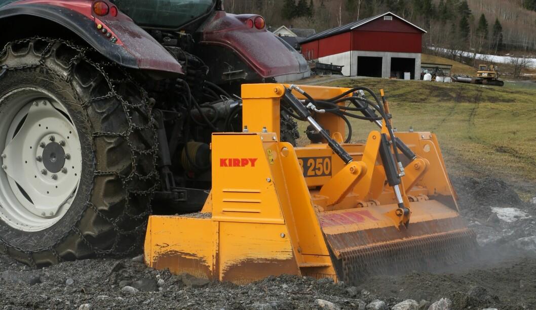 Landbruksteknikk fører blant annet Kirpy.
