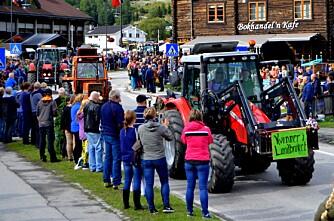 Tråkker til med Traktorrock igjen