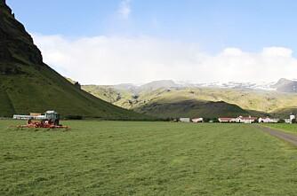 Klar for fôrimport fra Island