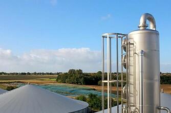 Biogass i sentrum på Agromek