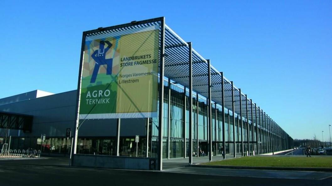 Agroteknikk 2018 blir arrangert på Norges Varemesse i Lillestrøm 8.-11. november.