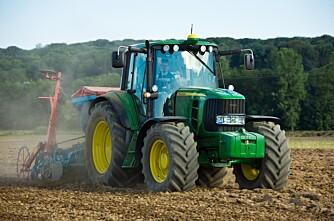 Traktorstatistikken: John Deere i full galopp
