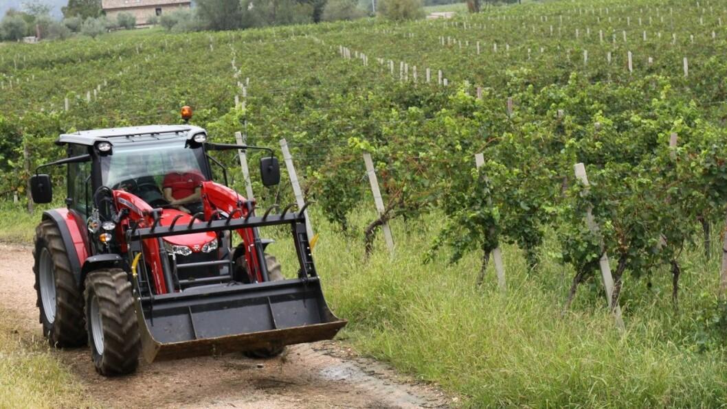Tjuvene foretrekker nyere traktorer.