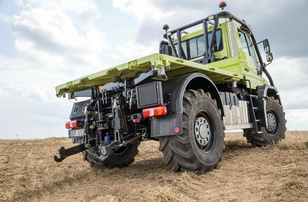 Unimog kan nå bli et alternativ for deg som har traktorlappen.