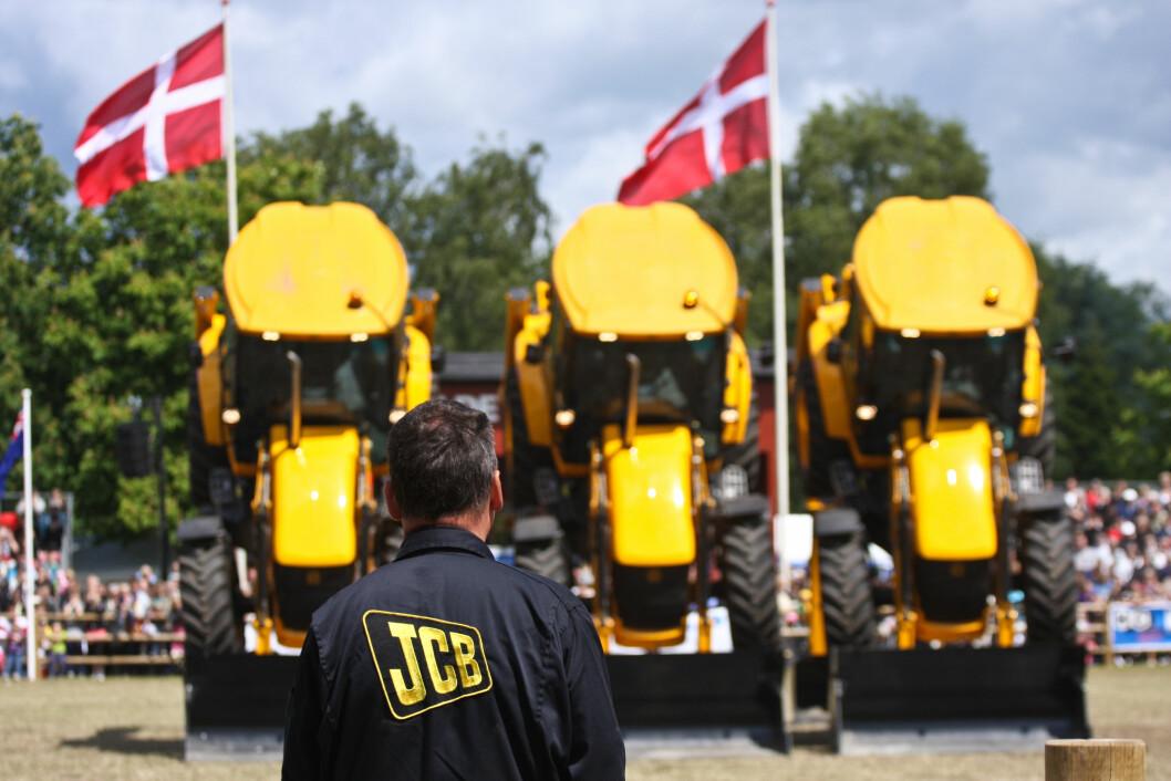 Også når det gjelder salg av større traktorer kommer danskene til kort. Foto: colourbox.com