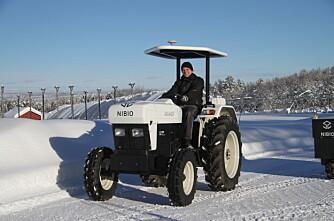 Norges første helelektriske traktor