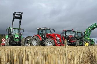 Kor mykje kostar eigentleg ein traktor?