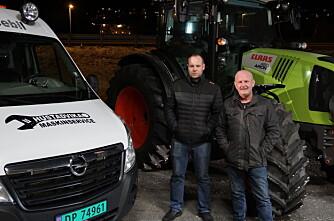 Claas på plass i Romsdal