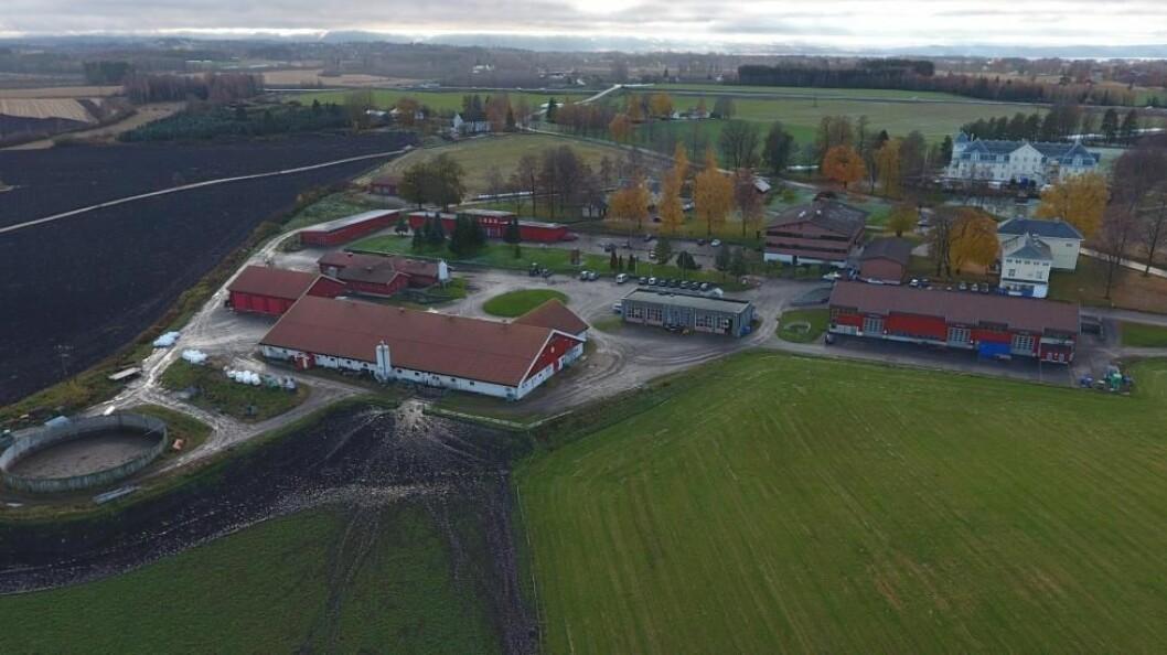 Arkivfoto. Jønsberg er en av over 20 videregående skoler som tilbyr agronomiutdanning.